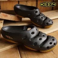 KEEN 1001966 男款護趾拖鞋-黑 黃