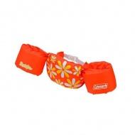COLEMAN CM-28544 手臂型浮力衣 橘色花朵