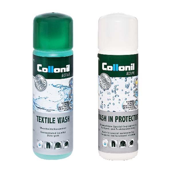 COLLONIL 德國 衣物清洗劑+浸泡式防潑水劑(兩瓶一組) CL7355