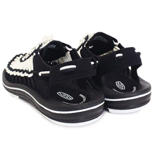 KEEN UNEEK 女織帶涼鞋 黑 白1019282