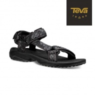 TEVA 男 Terra Fi Lite 水陸機能涼鞋 1001473KBL (黑灰)