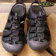 KEEN 1018803 Newport ECO 男護趾運動涼鞋 黑