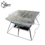 outdoorbase 24974 焰舞不鏽鋼焚火台XL(食用級304烤網)
