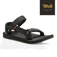 TEVA 女 Original 經典緹花織帶涼鞋 1003987BLK 黑