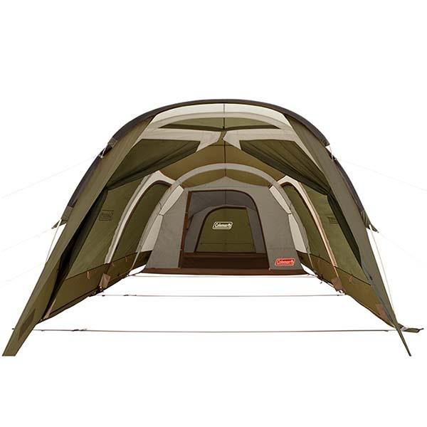 COLEMAN CM-33801 綠橄欖版 隧道式2 ROOM LDX 套裝組(預購)