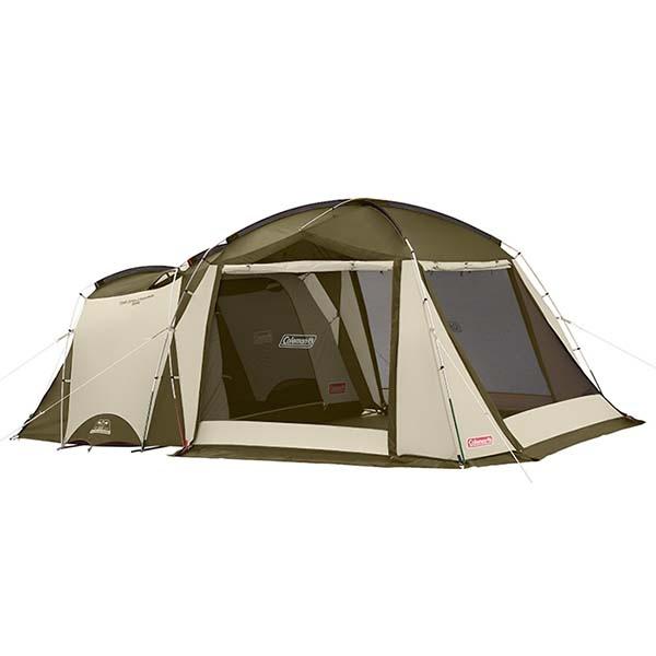 COLEMAN CM-33800 TOUGH SCREEN 2-ROOM帳篷 綠橄欖(現貨)