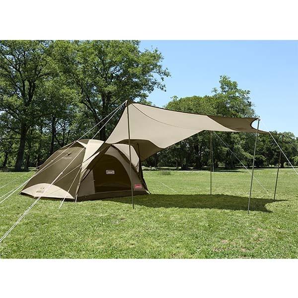 COLEMAN CM-33799 綠橄欖版4-6人透氣圓頂露營帳IV套裝組(預購)