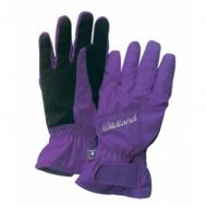 WILDLAND W2003-53 女PR棉防水防風觸控手套 紫色