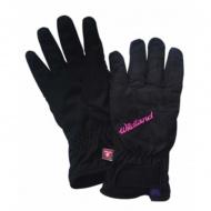 WILDLAND W2003-54 女PR棉防水防風觸控手套 黑色