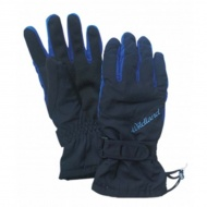 WILDLAND W2006-72 中性PR棉防水防風觸控手套 深藍色