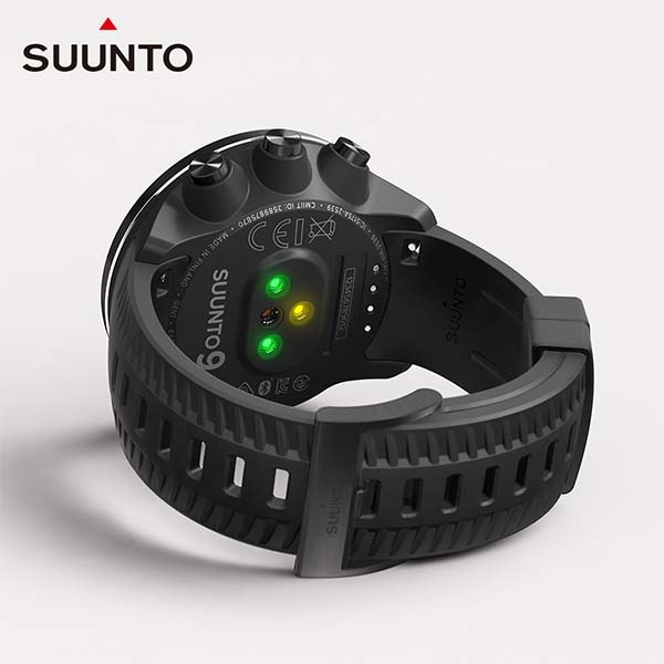 SUUNTO SUUNTO 9 BARO 氣壓式高度多項目運動 GPS 腕錶 經典黑