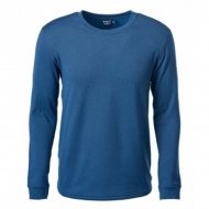 WILDLAND P2666-72 男Power Grid底層保暖衣 深藍色