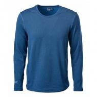 WILDLAND P2668-72 男PG彈性底層圓領保暖衣 深藍色
