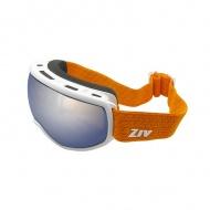 ZIV G006023 霧黑 橘電黑紅 滑雪護目鏡