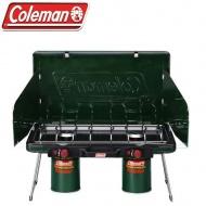 COLEMAN CM-6707 瓦斯雙口爐 綠