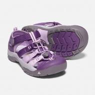KEEN兒童護趾涼鞋 1020365 粉紫