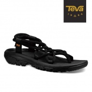 TEVA 女 XLT Infinity 羅馬織帶運動涼鞋 黑 1091112BLK
