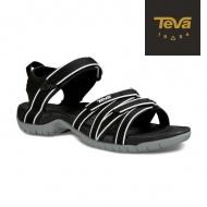 TEVA 女 Tirra 機能運動涼鞋 4266BWHT (黑白)
