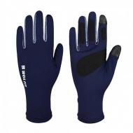WELLFIT  3D 長版多彩防曬手套 - 礦藍 100066523