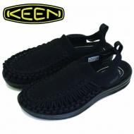 KEEN UNEEK  EVO  女織帶涼鞋  黑 1021486