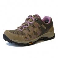 SIRIO 女 Gore-Tex短筒登山健行鞋-棕紫 PF116