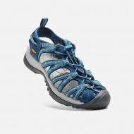 KEEN Whisper 女輕量護趾涼鞋 深藍灰色 1014206