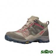 SIRIO 女 PF156SA Gore Tex中筒登山健行鞋 棕紅