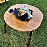 想玩生活 和風竹板圓桌 TA-1629