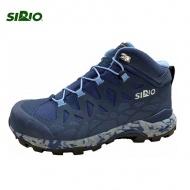 【SIRIO 日本】 Gore-Tex中筒登山健行鞋 PE156IN 水藍色