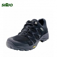 SIRIO Gore-Tex  女短筒登山健行鞋-黑色 PF116-BLK