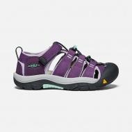 KEEN 童 NEWPORT H2護趾運動涼鞋 紫 薄荷綠 1022846
